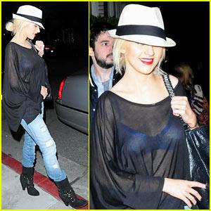 Christina Aguilera: Abbot Kinney Cutie