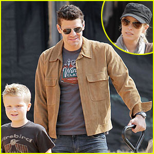 David Boreanaz: Pumpkin Picking with Jaden!