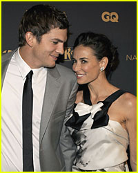 Demi Moore & Ashton Kutcher GQ It Up