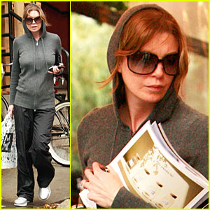 Ellen Pompeo: Rain is a Pain!