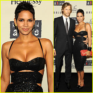 Halle Berry Keeps a Child Alive with Gabriel Aubry