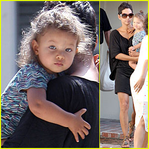 Halle Berry: Nahla is a Bun Baby