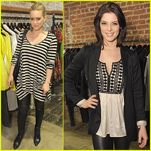 Hilary Duff & Ashley Greene: Confederacy Cute
