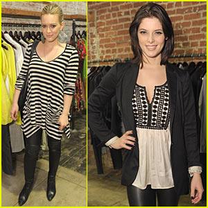 Hilary Duff & Ashley Greene: Confederacy Cute
