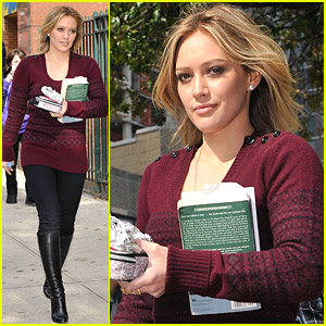 Hilary Duff Is Reading Salem Falls
