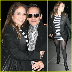 Jennifer Lopez & Marc Anthony: Le Caprice Couple