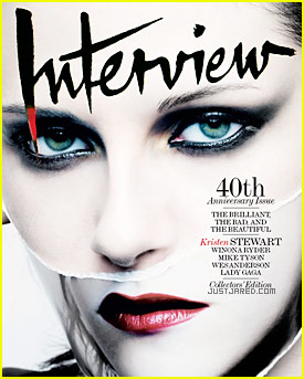 Kristen Stewart Covers 'Interview Magazine' October/November 2009