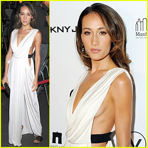 Maggie Q Premieres 'New York, I Love You'