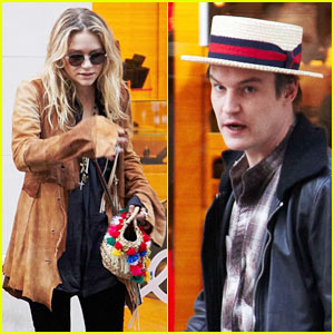 Mary-Kate Olsen & Nate Lowman: Tumi Twosome