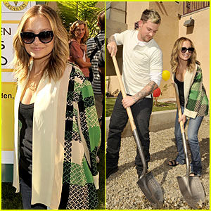 Nicole Richie & Joel Madden Open Beyond Shelter Playground
