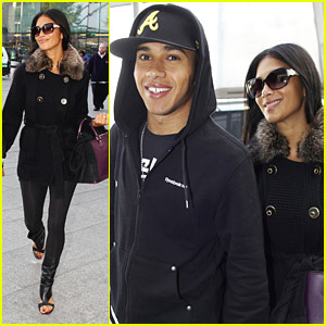 Nicole Scherzinger & Lewis Hamilton Are Set To Jet