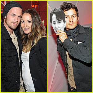 Orlando Bloom: U2 with Cam Gigandet!