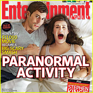 Paranormal Activity Covers 'Entertainment Weekly'
