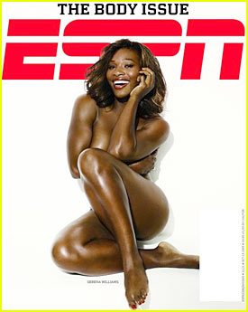Serena Williams: Naked for ESPN Magazine!