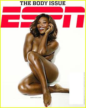 Serena Williams: Naked for ESPN Magazine!