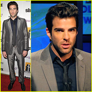 Zachary Quinto on Star Trek: Movie of the Year!
