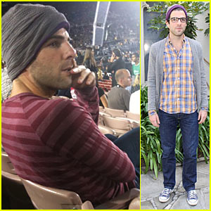 Zachary Quinto Rocks Out At U2 Concert