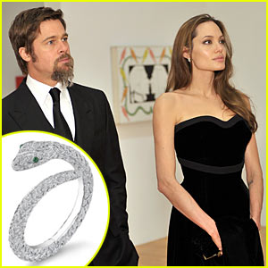 Brad Pitt & Angelina Jolie: Jewelry Designers for Asprey