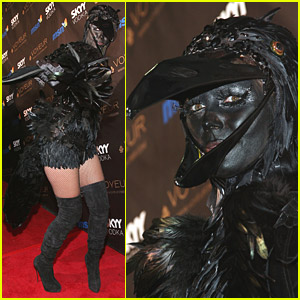 Heidi Klum & Seal Are Black Crows