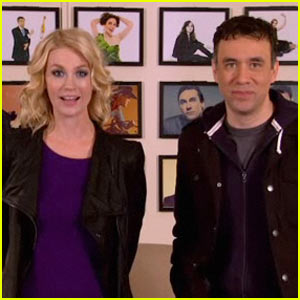 January Jones & Fred Armisen: SNL Promo!