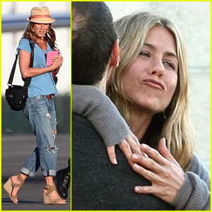 Jennifer Aniston Heads Home After Cabo Vacation