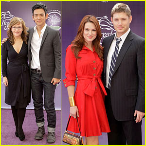 Jensen Ackles & Danneel Harris: Breeders' Cup Couple