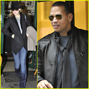 Kate Hudson & Alex Rodriguez Do Dinner