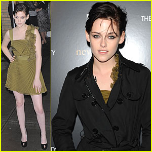 Kristen Stewart: New Moon in NYC!
