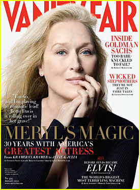 Meryl Streep Covers 'Vanity Fair' January 2010
