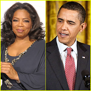 Oprah to Interview Obama in Christmas Special