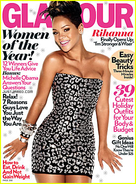 Rihanna: Glamour Cover Girl December 2009