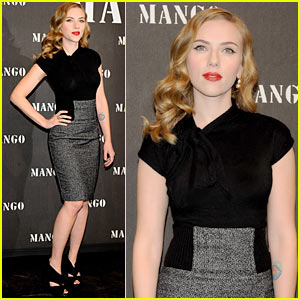 Scarlett Johansson Launches Mango's New Collection