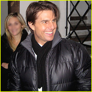 Tom Cruise Signs Autographs in Austria