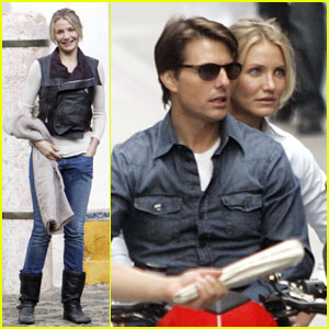 Tom Cruise & Cameron Diaz: House of Pilatos Pair