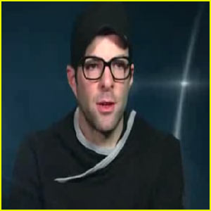Zachary Quinto: 'Spock' DVD Feature!