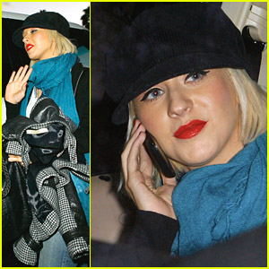 Christina Aguilera Involved In Car Accident