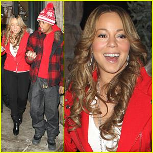 Mariah Carey Is Cold In Colorado