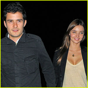 Orlando Bloom: Not Engaged to Miranda Kerr