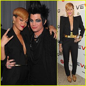Rihanna & Adam Lambert: Viva Vevo!