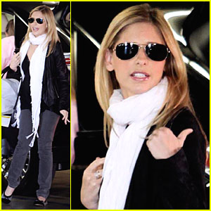 Sarah Michelle Gellar Takes Charlotte for a Checkup
