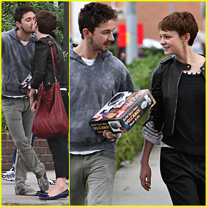 Shia LaBeouf & Carey Mulligan Build Their Own Volcano