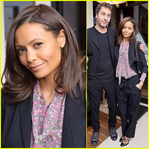 Thandie Newton &#038; Ol Parker are Tickled Tach