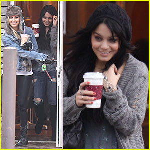 Vanessa Hudgens & Ashley Tisdale: Coffee Cuties!