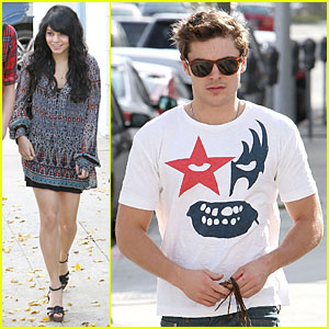 Zac Efron & Vanessa Hudgens: Ammo Brunch Buddies