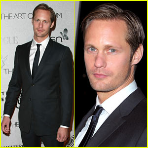 Alexander Skarsgard & Camilla Belle: Art of Elysium Table Mates