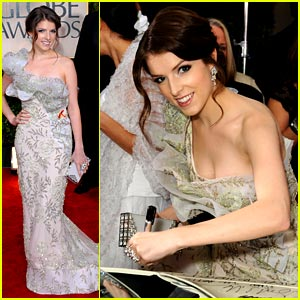Anna Kendrick - Golden Globes 2010 Red Carpet