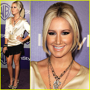 Ashley Tisdale: Golden Globes Gorgeous