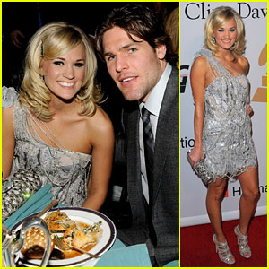 Carrie Underwood & Mike Fisher: Clive Davis Couple