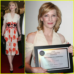 Cate Blanchett Named Best Actress for 'Streetcar'