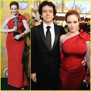 Christina Hendricks - SAG Awards 2010 Red Carpet